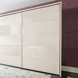 Schwebetürenschrank »Sunset«, beige, Breite 300 cm, Höhe 236 cm, WIEMANN