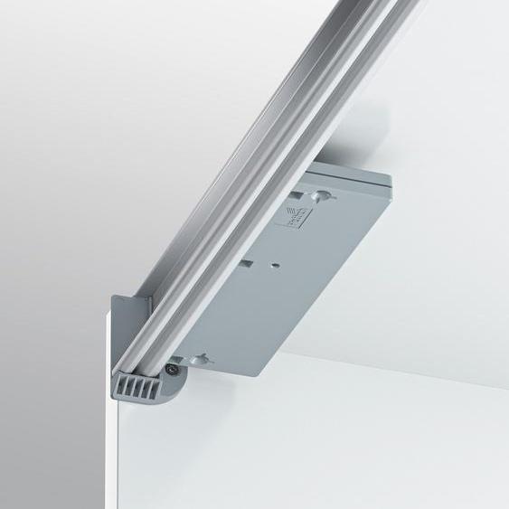Schwebetürselbsteinzug (Set, 2 Stück) Einheitsgröße grau Zubehör für Kleiderschränke Möbel Türdämpfer