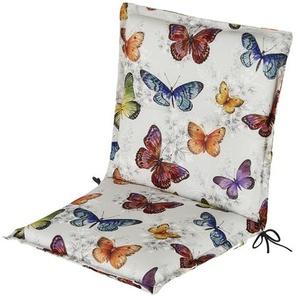 Auflage   Butterfly ¦ mehrfarbig ¦ Maße (cm): B: 50 H: 9 Garten  Auflagen & Kissen  Niederlehner-Auflagen » Höffner