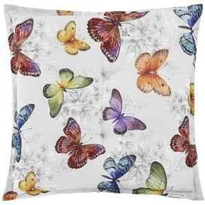 Auflage   Butterfly ¦ mehrfarbig ¦ Maße (cm): B: 50 H: 9 Garten  Auflagen & Kissen  Gartenhocker-Auflagen » Höffner
