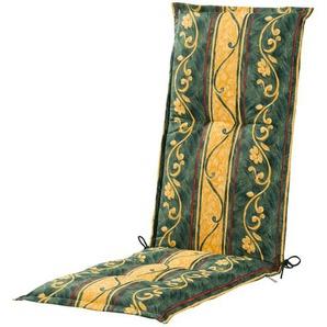 Relaxauflage  Sonate ¦ grün ¦ Druckstoff, 75% Baumwolle, 25% Polyester ¦ Maße (cm): B: 50 H: 8 Garten  Auflagen & Kissen  Sonstige Sitzkissen » Höffner