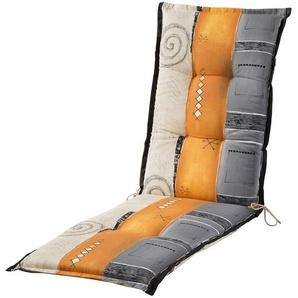 Relaxauflage  Tirana ¦ mehrfarbig ¦ Druckstoff, 100% Baumwolle ¦ Maße (cm): B: 50 H: 8 Garten  Auflagen & Kissen  Sonstige Sitzkissen » Höffner