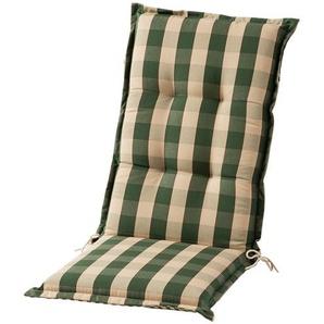 Sesselauflage hoch  Kent grün ¦ grün ¦ Maße (cm): B: 50 H: 9 Garten  Auflagen & Kissen  Hochlehner-Auflagen » Höffner