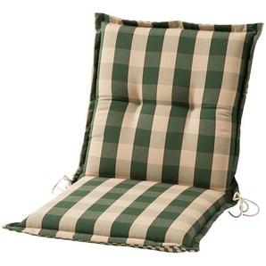 Sesselauflage nieder  Kent grün ¦ grün ¦ Maße (cm): B: 50 H: 9