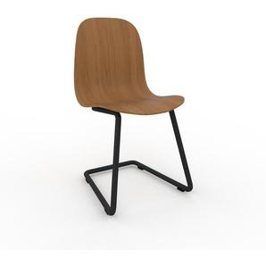 Schwingstuhl in Eiche 49 x 83 x 44 cm einzigartiges Design, konfigurierbar