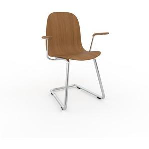 Schwingstuhl in Eiche 49 x 83 x 62 cm einzigartiges Design, konfigurierbar