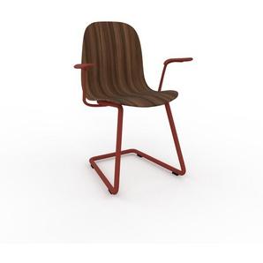 Schwingstuhl in Nussbaum 49 x 83 x 62 cm einzigartiges Design, konfigurierbar
