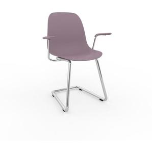 Schwingstuhl in Puderrosa 49 x 82 x 62 cm einzigartiges Design, konfigurierbar