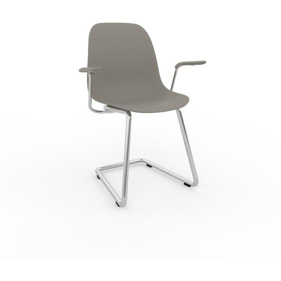 Schwingstuhl in Sandgrau 49 x 82 x 62 cm einzigartiges Design, konfigurierbar