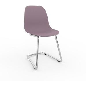 Schwingstuhl in Puderrosa 49 x 82 x 44 cm einzigartiges Design, konfigurierbar