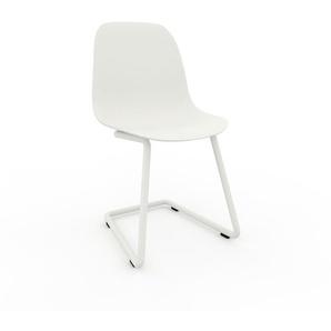 Schwingstuhl in Weiß 49 x 82 x 44 cm einzigartiges Design, konfigurierbar