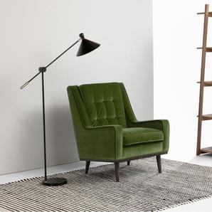 sessel aus samt preisvergleich moebel 24. Black Bedroom Furniture Sets. Home Design Ideas