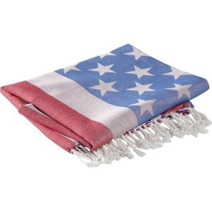 Hamamtuch »USA«, Seahorse, mit amerikanischer Flagge