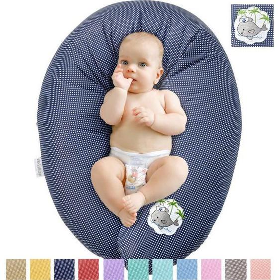 SEI Design Stillkissen »Babywal EPS Mikroperlen«, mit hochwertiger Stickerei