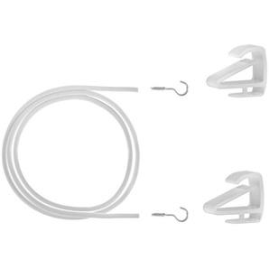 Seilspanngarnitur »Gardinenspannseil Klemmfix«, LICHTBLICK
