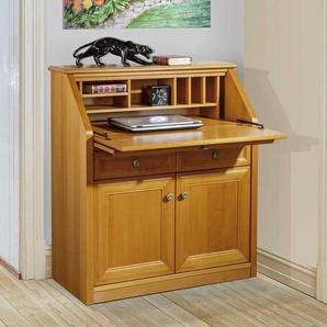 Sekret�rschrank mit Kirschbaum furniert klassischen Design