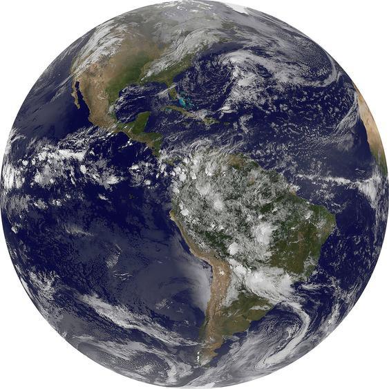 Selbstklebende Vlies Fototapete Earth