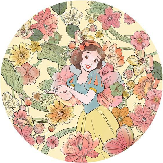Selbstklebende Vlies Fototapete Snow White Endless Summer