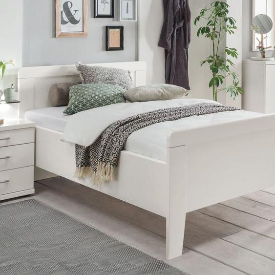 Seniorenbett Calimera, weiß, 90x200 cm