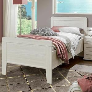 Preiswertes Seniorenbett 100x200 cm in Polar-Lärche Holzdekor - Zeven