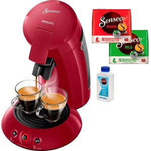 Kaffeepadmaschine HD6554/90 New Original, rot, Senseo