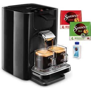 Kaffeepadmaschine Quadrante HD7865/60, schwarz, Senseo