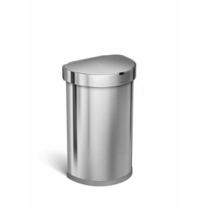 Sensorabfalleimer Silber, Designer simplehuman, 64.1x39.1x34 cm
