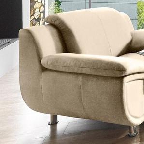 Sessel, FSC®-zertifiziert, beige, Trendmanufaktur