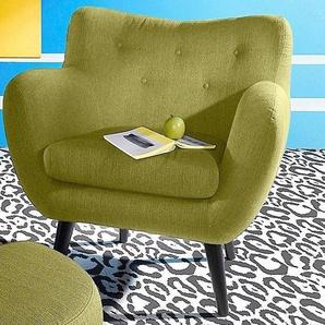 INOSIGN Sessel, grün, strapazierfähig