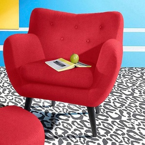 INOSIGN Sessel, rot, FSC-Zertifikat, , , strapazierfähig