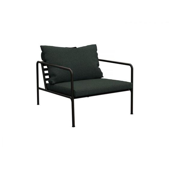 Sessel Avon Houe schwarz, Designer Henrik Pedersen, 58.4 / mit Kissen 81x81.2x99.1 cm