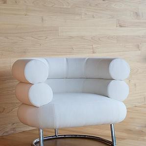 Sessel Bibendum ClassiCon weiß, Designer Eileen Gray, 72x90x79 cm