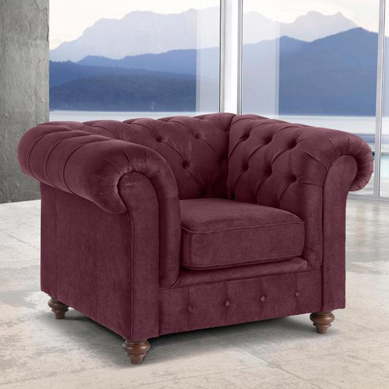 Sessel »Chesterfield«, rot, Premium collection by Home affaire