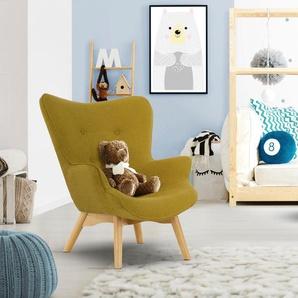 Sessel »Duca Mini«, gelb, Lüttenhütt
