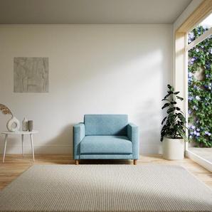 Sessel Eisblau - Eleganter Sessel: Hochwertige Qualität, einzigartiges Design - 104 x 75 x 98 cm, Individuell konfigurierbar