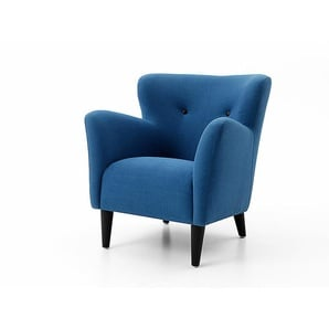 Sessel Happy blau, 81x74x82 cm