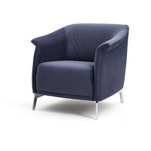 Sessel ID 210 blau, Designer Indomo, 75x78x83 cm