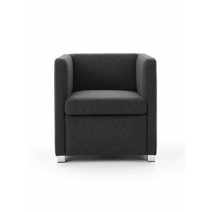 Sessel ID grau, Designer Indomo, 67x66x68 cm