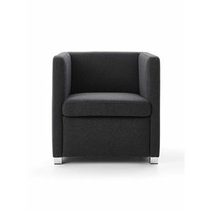 Sessel ID grau, Designer Indomo, 71x71x71 cm