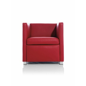 Sessel ID rot, Designer Indomo, 67x66x68 cm