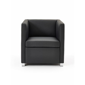 Sessel ID schwarz, Designer Indomo, 71x71x71 cm