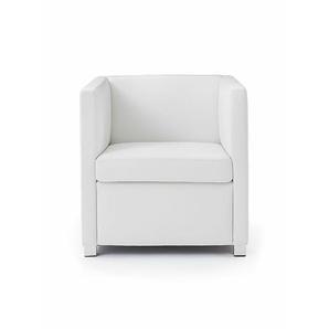 Sessel ID weiß, Designer Indomo, 71x71x71 cm