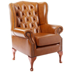 Sessel im klassisch englischen Club-Stil