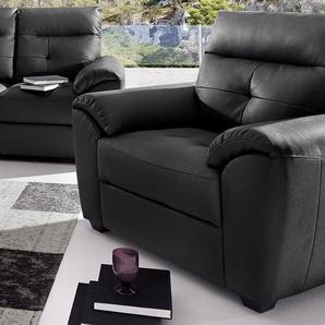 Sessel, in Luxus-Kunstleder