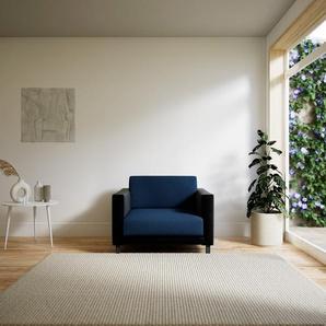Sessel Jeansblau - Eleganter Sessel: Hochwertige Qualität, einzigartiges Design - 104 x 75 x 98 cm, Individuell konfigurierbar