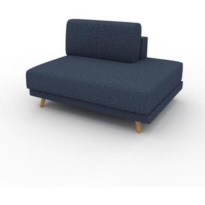 Sessel Jeansblau - Eleganter Sessel: Hochwertige Qualität, einzigartiges Design - 120 x 75 x 98 cm, Individuell konfigurierbar