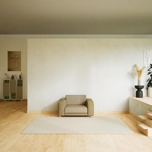 Sessel Kaschmirbeige - Eleganter Sessel: Hochwertige Qualität, einzigartiges Design - 128 x 75 x 98 cm, Individuell konfigurierbar