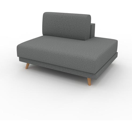 Sessel Kiesgrau - Eleganter Sessel: Hochwertige Qualität, einzigartiges Design - 120 x 75 x 98 cm, Individuell konfigurierbar
