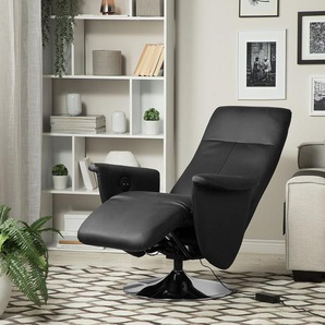 Sessel Kunstleder schwarz PRIME