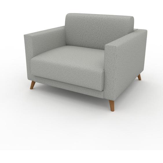 Sessel Lichtgrau - Eleganter Sessel: Hochwertige Qualität, einzigartiges Design - 105 x 75 x 98 cm, Individuell konfigurierbar